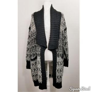 Cynthia Rowley Alpaca Wool Blend Cardigan Sweater